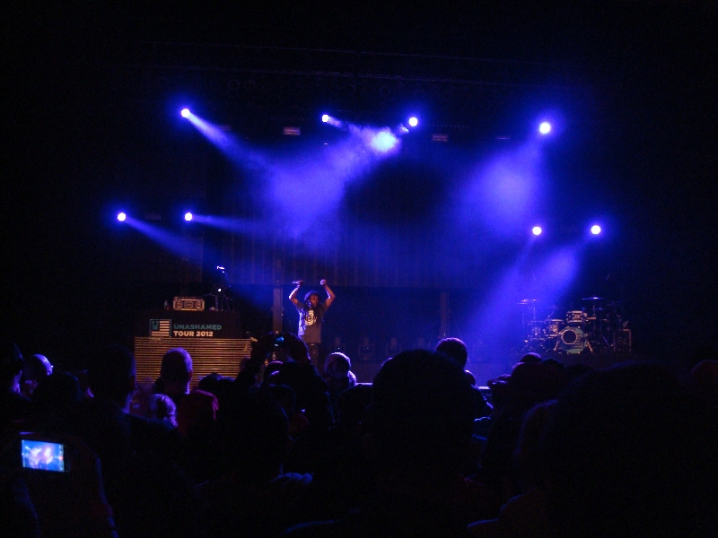 Propaganda Gets it Started - Unashamed Tour 2012