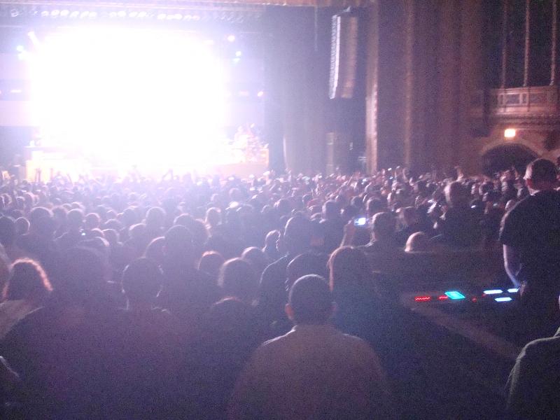 Crowd Is Loving It - Unashamed Tour 2012