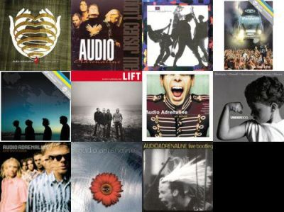 Audio Adrenaline Album Covers