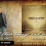 "Chris Clayton ""all these things and more"" Album Releases Today"