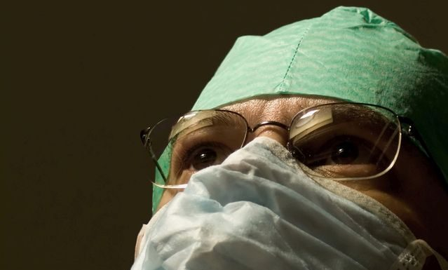 Doctor in Mask