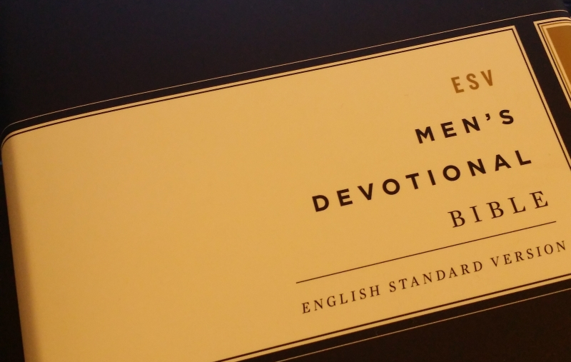 ESV Men's Devotional Bible - Crossway