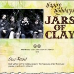 Send a Free Jars of Clay Christmas Card and MP3 to Your Friends