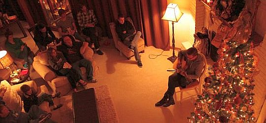 Jeremy Spring - Living Room Tour 3 from Above
