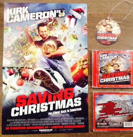 Kirk Cameron - Saving Christmas Swag