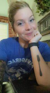 Lindsay Cole - Fork Tattoo