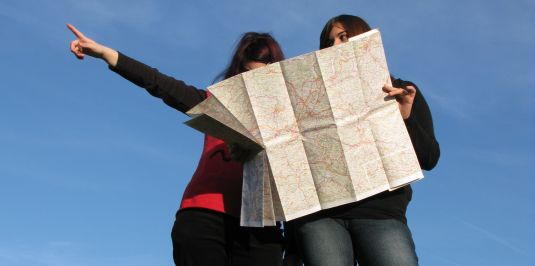 Lost with a Map