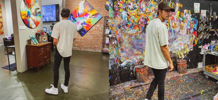 Michael Perrotti - Art Gallery Visit