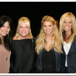 Point of Grace and Jessica Simpson at CMA Festival