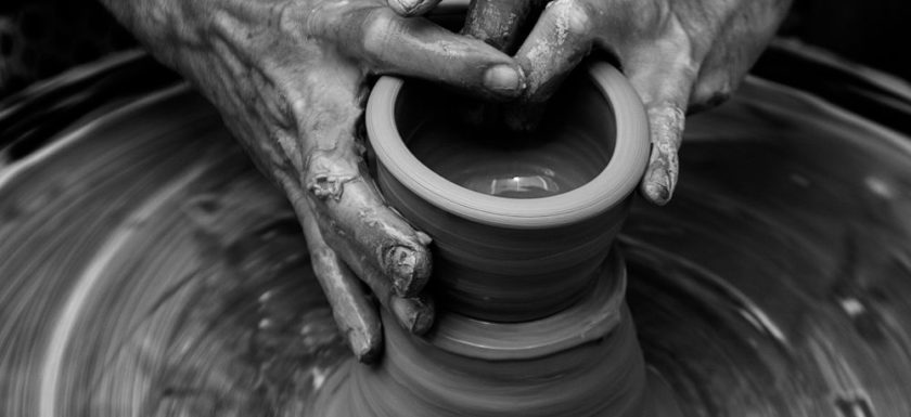 Pottery Wheel Hands
